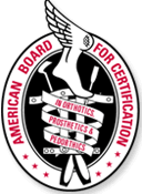 Certified by the Board of Certification