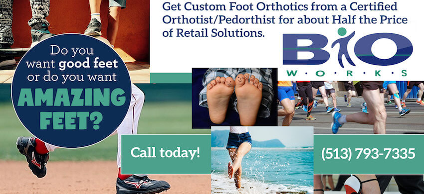 Stop Settling for Good Feet...Get Amazing Feet at Bioworks!